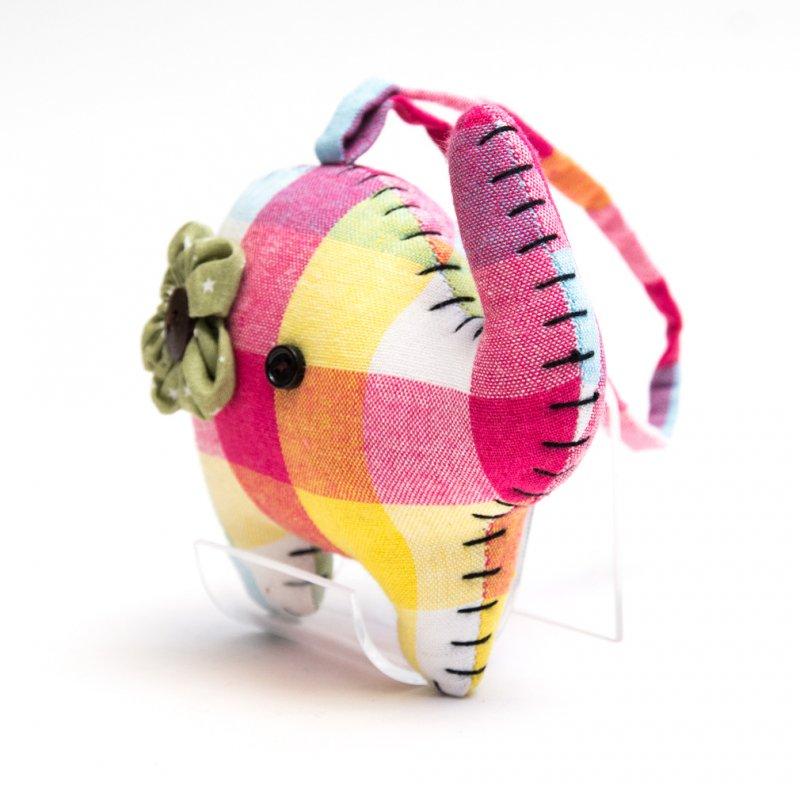 画像3:手縫いゾウさんのかわいいドアチャーム Type.5