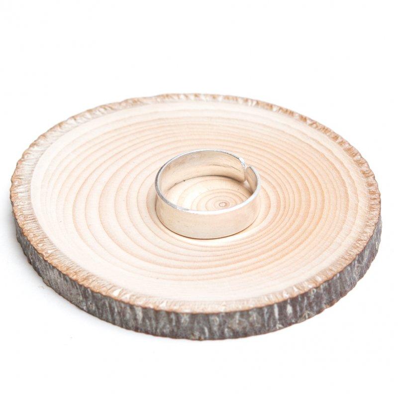 【カレン族シルバー】シンプルでやさしい曲線が際立つリング
