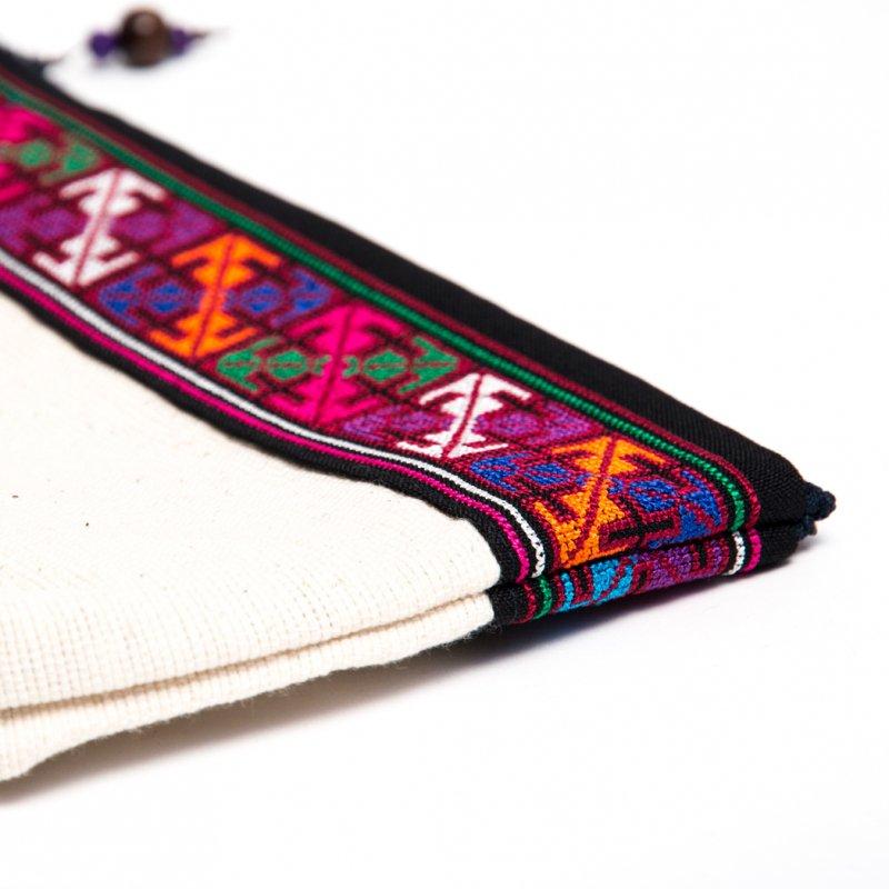 画像3:A Bu-Ari(アブアリ)アカ族刺繍のバックインバック
