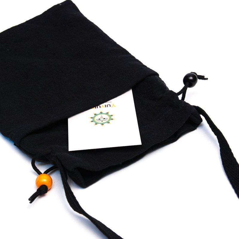 画像3:A Bu-Ari(アブアリ)モン族刺繍の巾着ポーチ Type.1