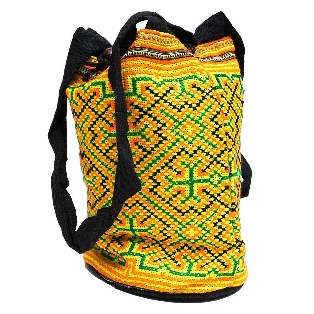画像2:モン族 民族刺繍古布を使用したハンドバッグ(S)