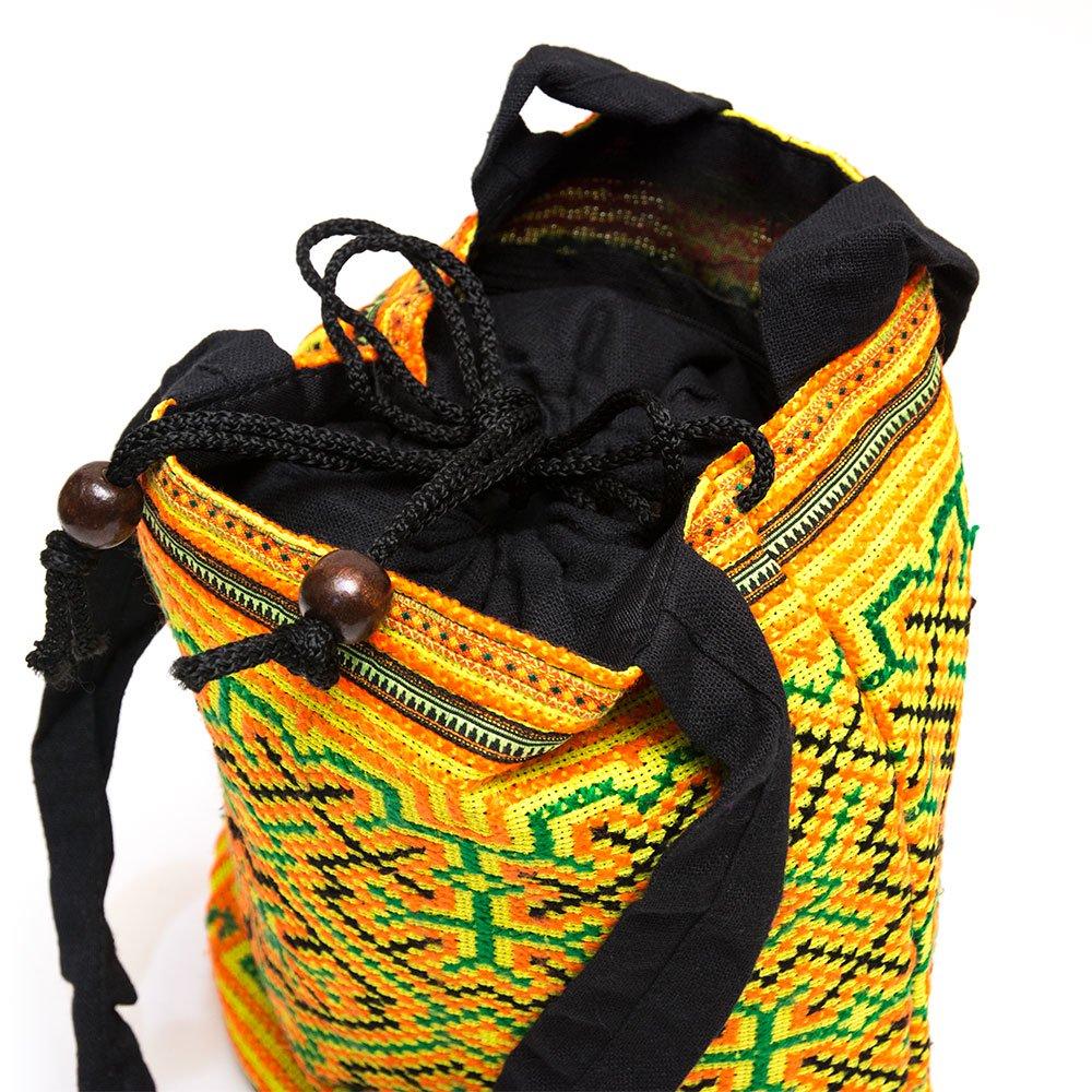 画像3:モン族 民族刺繍古布を使用したハンドバッグ(S)