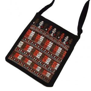 ベトナム 赤ザオ(ヤオ)族 手刺繍ショルダーバッグ(B)