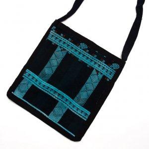 ベトナム 赤ザオ(ヤオ)族 手刺繍ショルダーバッグ(C)