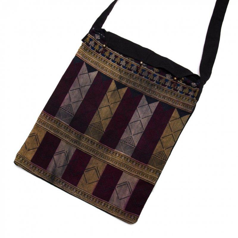 ベトナム 赤ザオ(ヤオ)族 ヴィンテージ刺繍 ショルダーバッグ