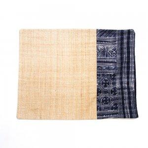 ベトナム 黒モン族バティック ランチョンマット(B)