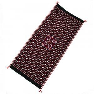 ベトナム 赤ザオ(ヤオ)族 手刺繍テーブルランナー