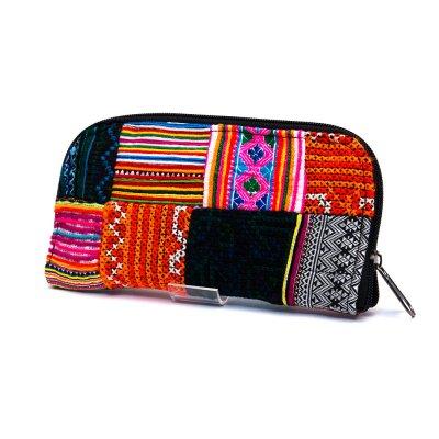 ベトナム モン族パッチワーク刺繍 長財布