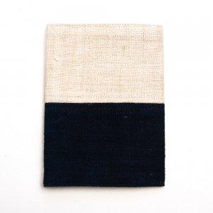 ベトナム 黒モン族 インディゴ染め パスポートカバー