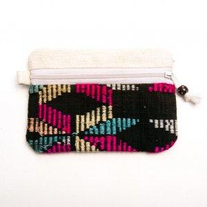 ベトナム ターイ族 手織り 小物ポーチ