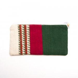ベトナム ターイ族 手織り 長方形ポーチ