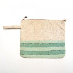 ベトナム ターイ族 手織り お着替えポーチ