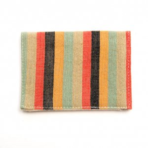 ベトナム ターイ族 手織り カードケース(A)