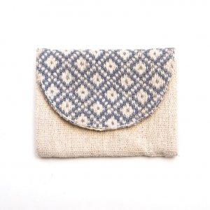 ベトナム ターイ族 手織り 蓋付きカードケース(B)
