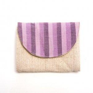 ベトナム ターイ族 手織り 蓋付きカードケース(C)