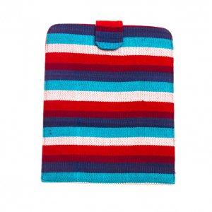 ベトナム チャウマ族 手織り カラフル タブレットケース(A)