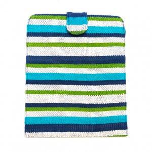 ベトナム チャウマ族 手織り カラフル タブレットケース(C)