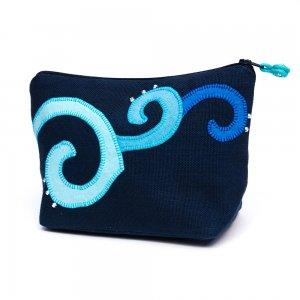 ベトナム ヌン族 手刺繍 コスメポーチ(B)