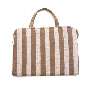 ベトナム ターイ族 手織り ラップトップクッションバッグ(A)