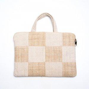 ベトナム ターイ族 手織り ラップトップクッションバッグ(B)