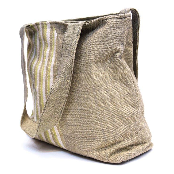 ベトナム ターイ族 手織り 大人トートバッグ(B)