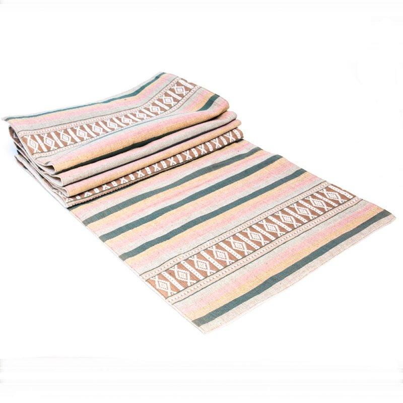 ベトナム ターイ族 手織り テーブルランナー