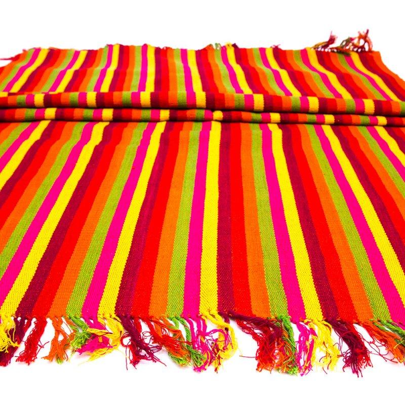 ベトナム チャウマ族 手織り カラフル テーブルランナー(A)