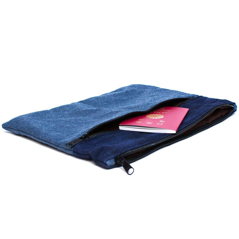 ThongPua モン族刺繍古布のタブレットケース(A4サイズ)