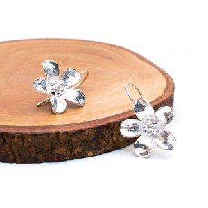 【カレン族シルバー】かわいいお花のシルバーピアス