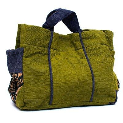 THANGEN ルー族手織り布の手提げバッグ Type.2
