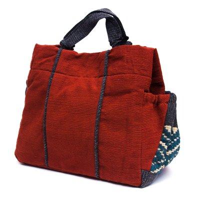 THANGEN ルー族手織り布の手提げバッグ Type.5
