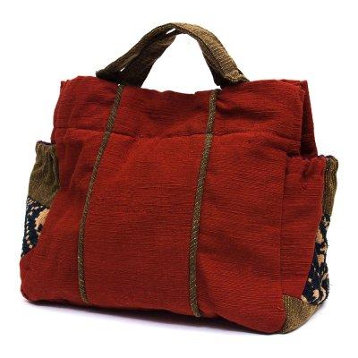 THANGEN ルー族手織り布の手提げバッグ Type.6
