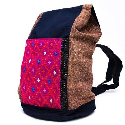 THANGEN カレン族手織り布の2wayショルダーバッグ Type.2