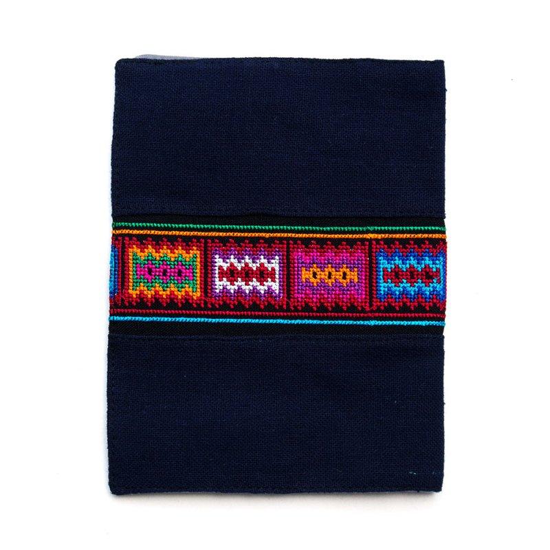 A Bu-Ali(アブアリ)アカ族刺繍のブックカバー Type.2
