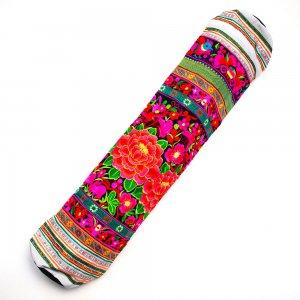 花モン族の色鮮やかなヨガマットケース Type.3