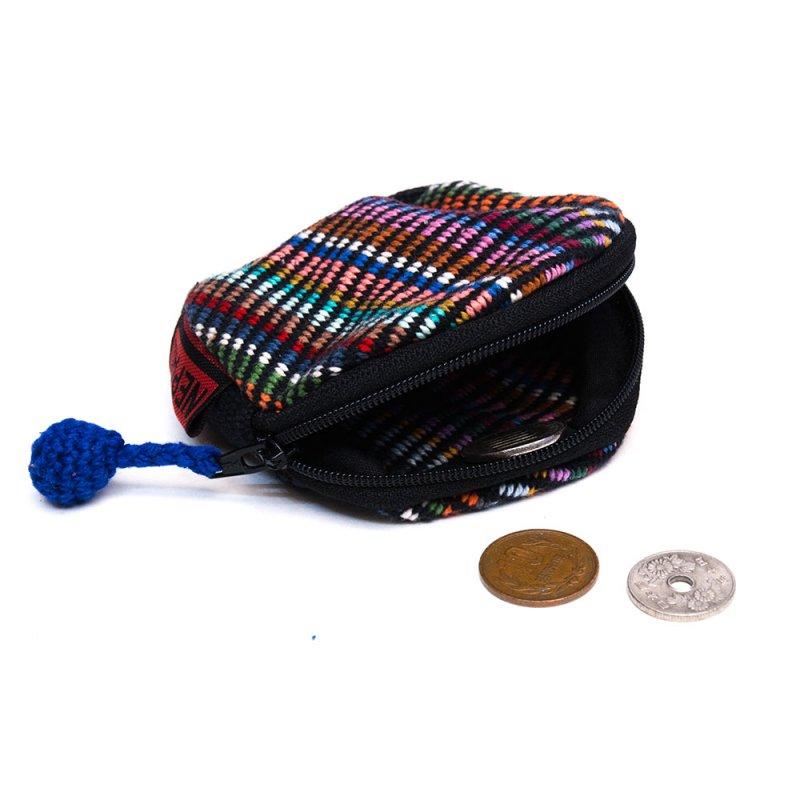 <フェアトレード>WSDO 手織布のコインケース Type.3
