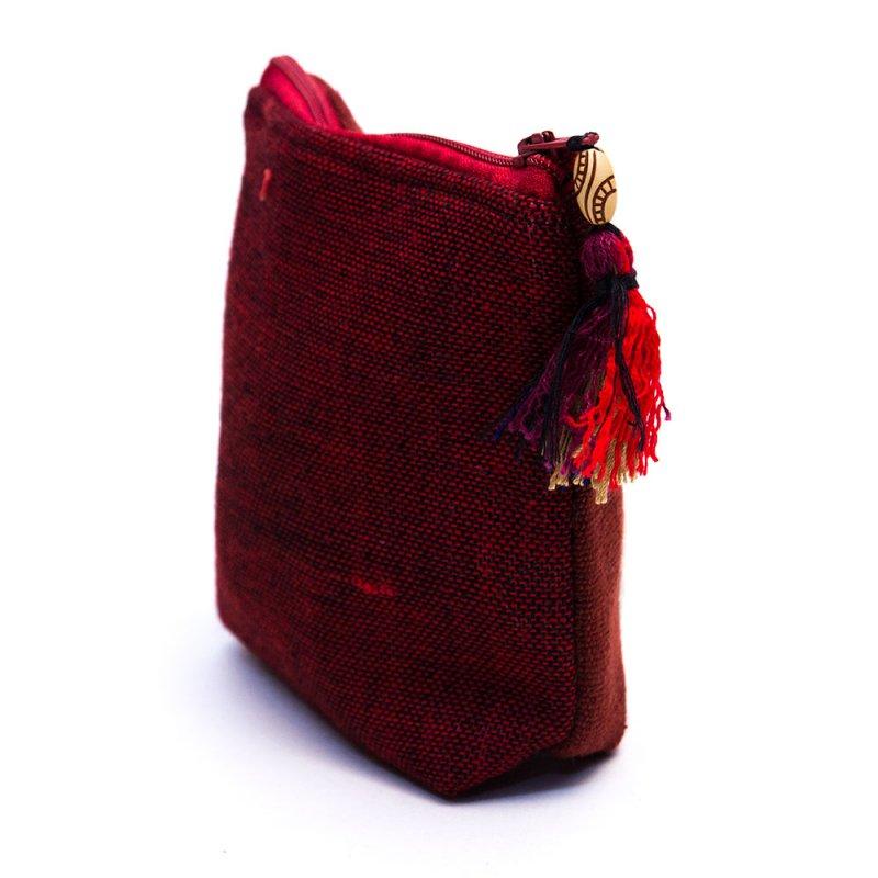 ミャンマー チン族 手刺繍の小物ポーチ Type.5