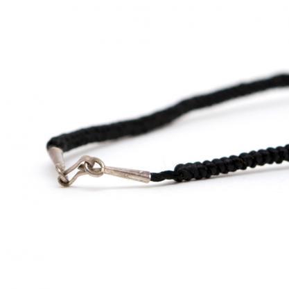 画像3:【カレンシルバー ネックレス】ビーンズ形状のハンドメイドアクセサリー