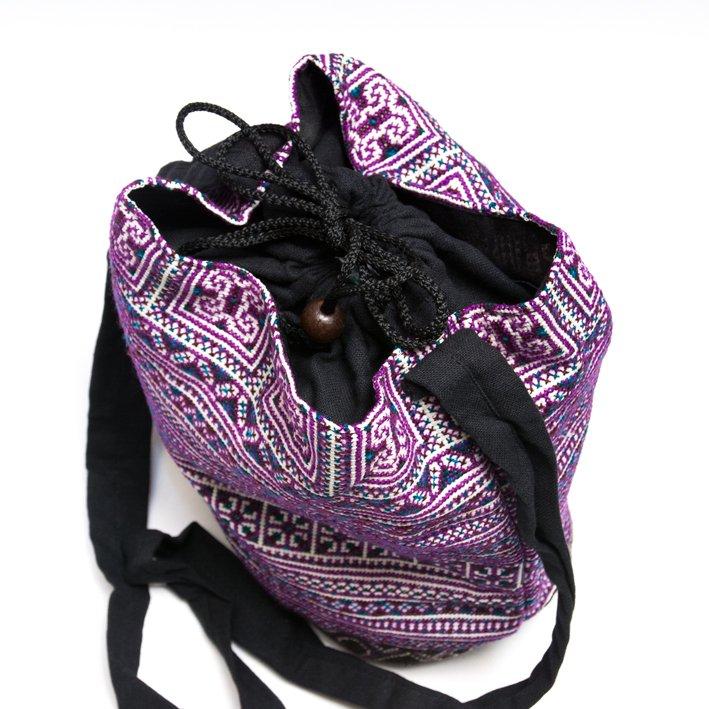 画像3:モン族 民族刺繍古布を使用したショルダーバッグ