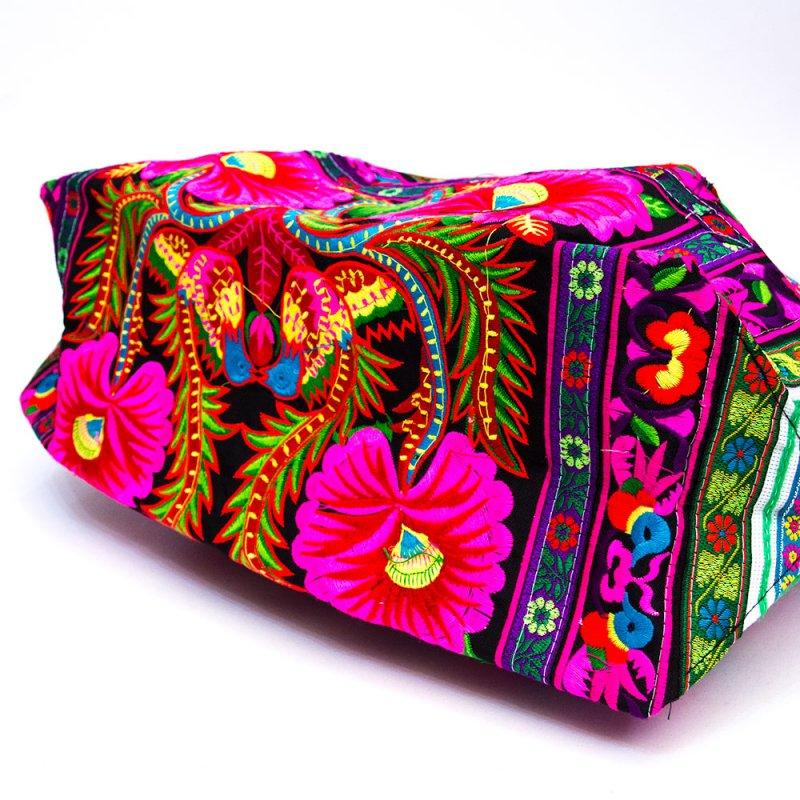 画像4:花モン族 色鮮やかなショルダーバッグ Type.1