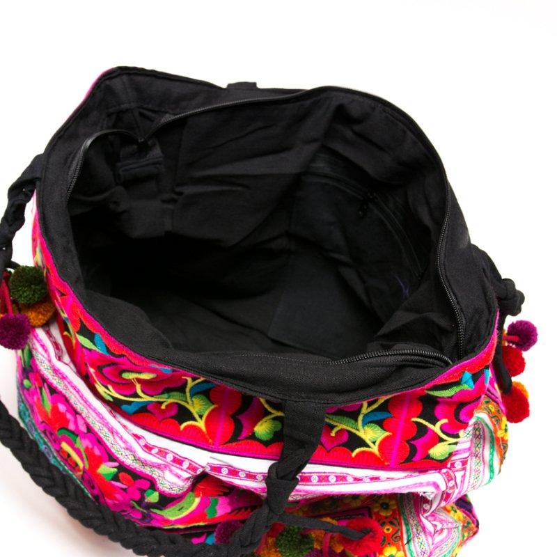 画像3:花モン族 色鮮やかなショルダーバッグ Type.2