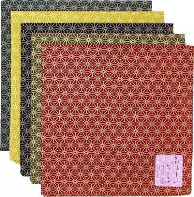 風呂敷 麻の葉/青・芥子・紺・緑・赤・