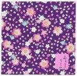 風呂敷 舞桜/紫・黒・赤・桃