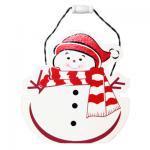 クリスマス小物入れ/雪だるま