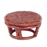 正座椅子/丸型/茶