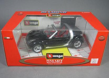 Smart ロードスター 1/18 サイズミニカー