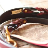 【Auburn Leathercrafters】Braided Leash (ブレイデッド リーシュ)