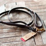 <img class='new_mark_img1' src='//img.shop-pro.jp/img/new/icons57.gif' style='border:none;display:inline;margin:0px;padding:0px;width:auto;' />【Auburn Leathercrafters】Two Handled Braided Leash  (2ハンドル ブレイデッド リーシュ)