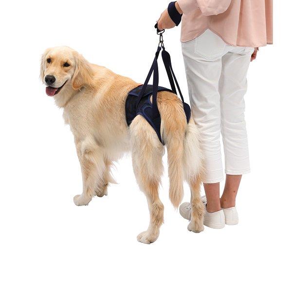 【LaLaWalk】Hip 大型犬用 迷彩ネイビー (メーカー直送商品)