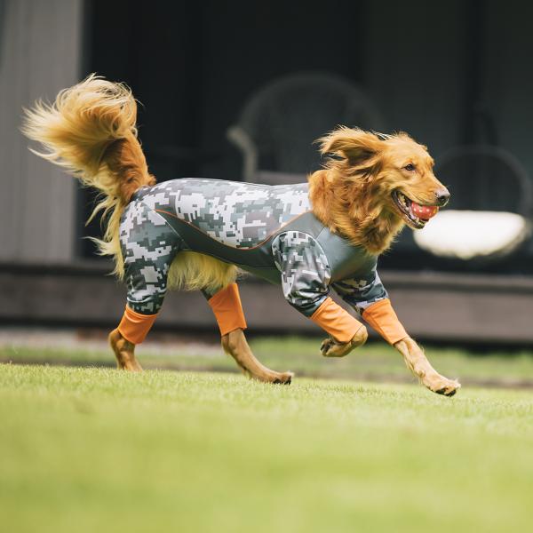 ★送料無料★【Active Wan】全身ウエア大型犬用デジタルサンドベージュ (メーカー直送商品)